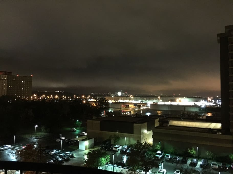 Beautiful view of pentagon