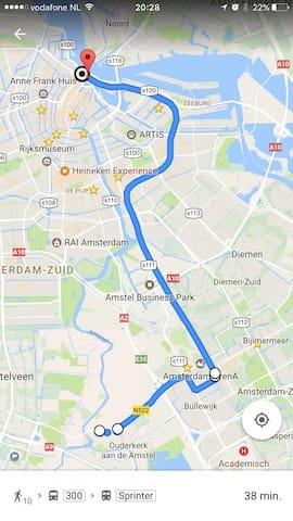Sleep near the Airport & Amsterdam - Ouderkerk aan de Amstel - Hus