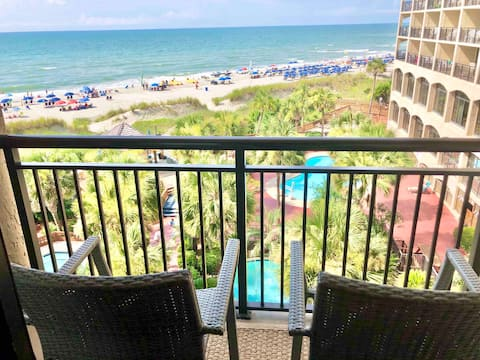 Newly Renovated Oceanfront Condo at 5 Star Resort!