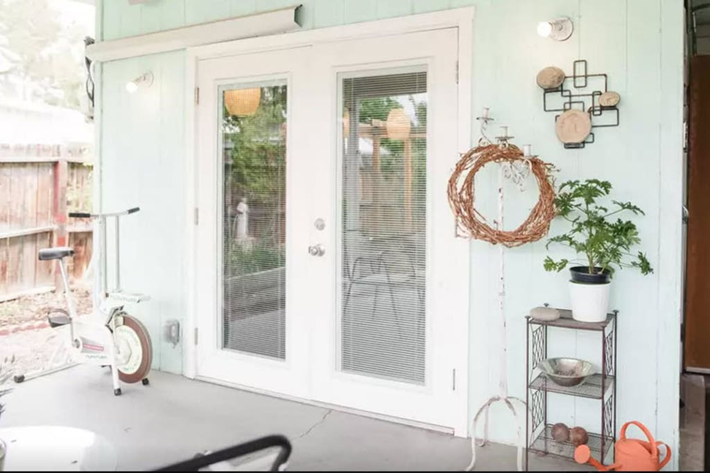 The door to your Eco Casita.