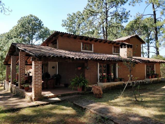 Tapalpa Cabaña en el Bosque