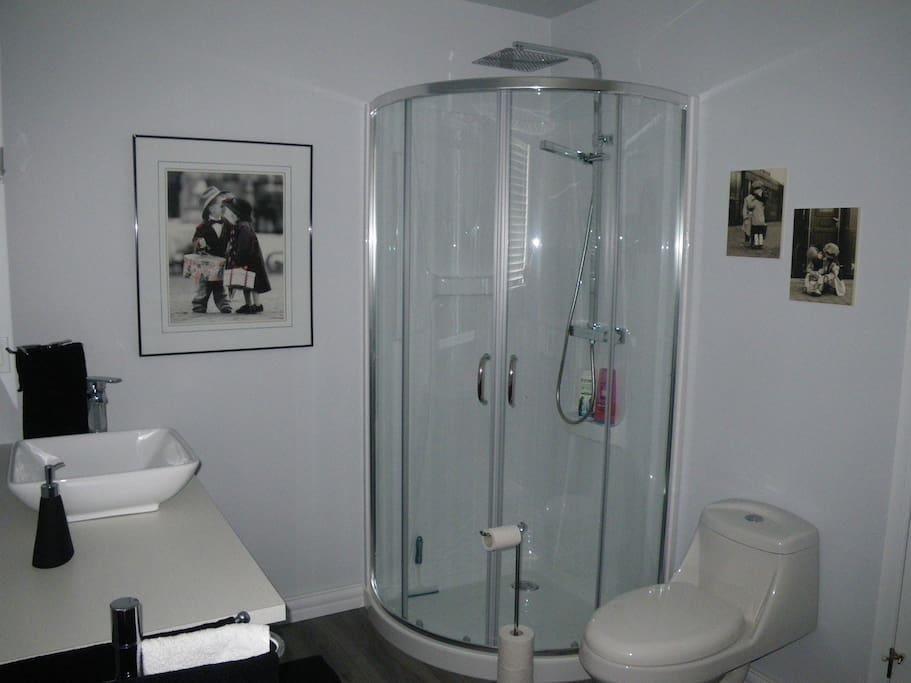 votre salle de bain privée
