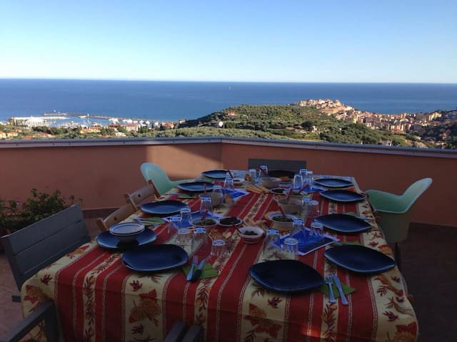 Bellavista 3,5 km dal mare cod citra (Phone number hidden by Airbnb)