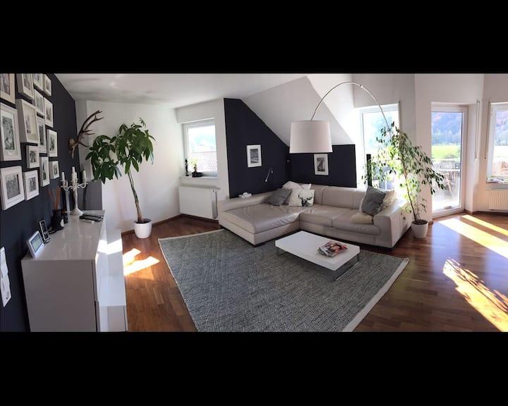Ruhige, zentrale Maisonette Wohnung