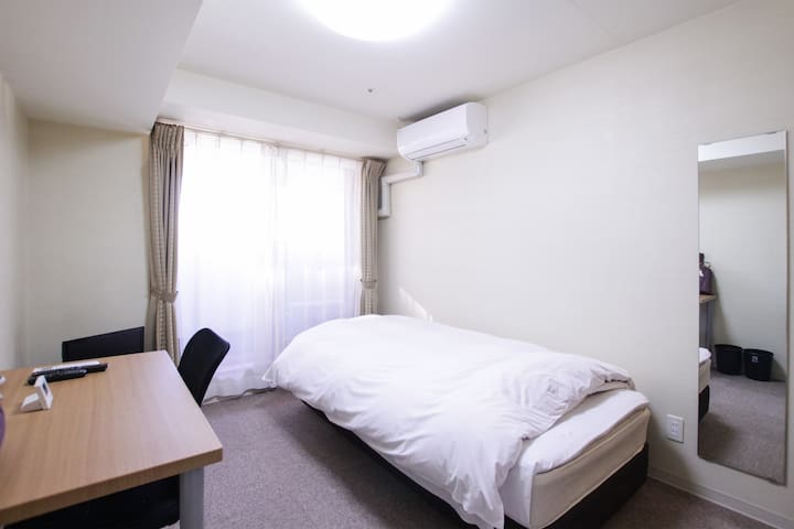 9-min to Sakae, own 1K apt [smoking room]M7