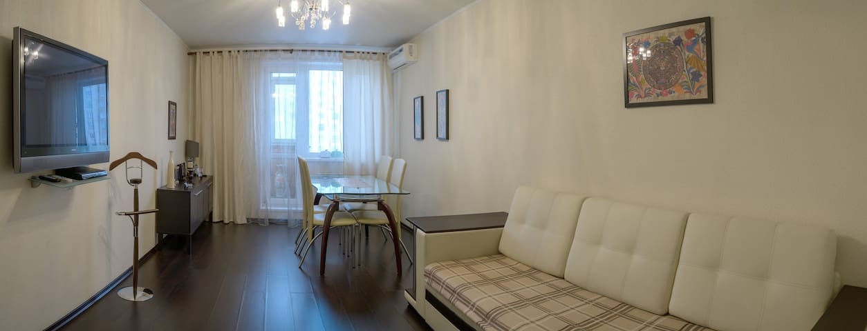 Центр Москвы в 25 минутах. Комната в Апартаментах.