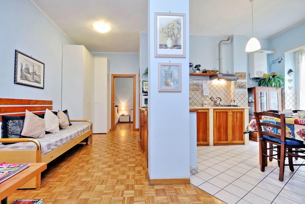 Ingresso appartamento/apartment entrance/entrée de l'appartement