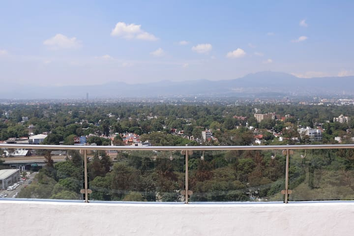 Beautiful and calm apartment near Coyoacan