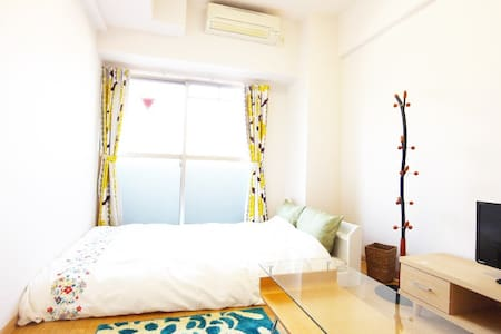 ★10 mins to Namba st★FREE wifi & kids FREE 705 - Ōsaka-shi - Appartement