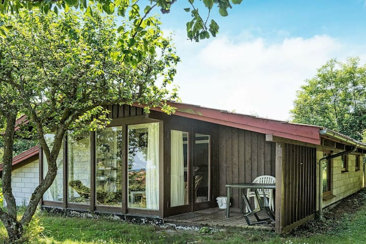 Spacious Holiday Home in Allinge Bornholm with Sea view