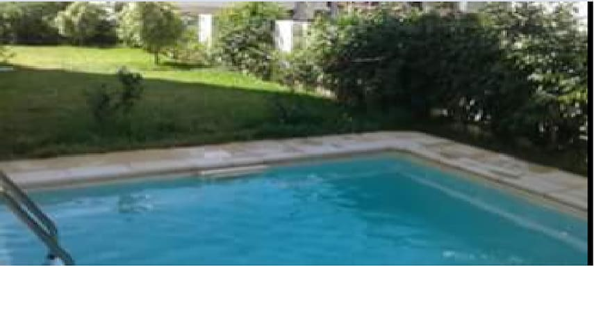 Studio, résidence avec piscine, proche de la mer - Nabeul - Leilighet