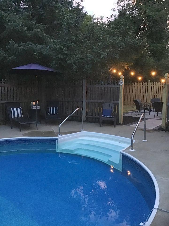 Saratoga Springs convenient tranquil location.