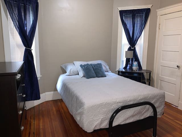 Steps away from the Shawmut station!!(room 2)