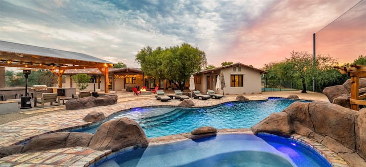 NEW! Relax & Play in The Ultimate Scottsdale Retreat