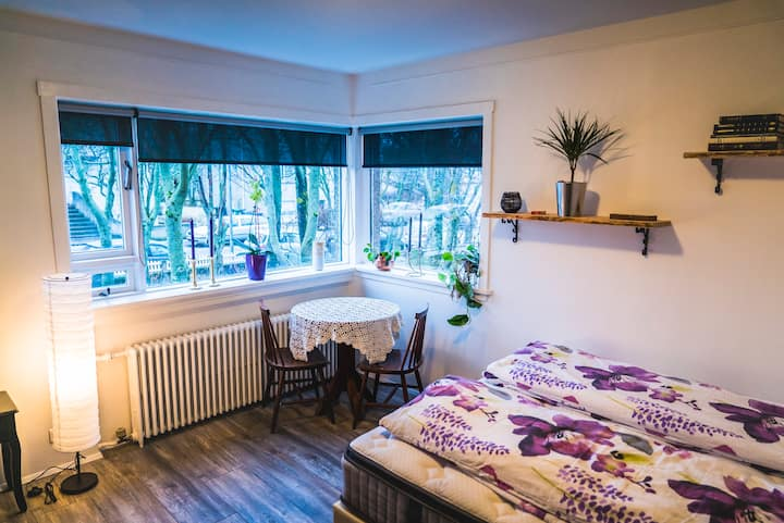 Spacious Garden View Room in Central Area