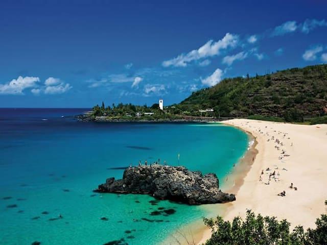 Beach Town Hawaii - Waialua - Casa