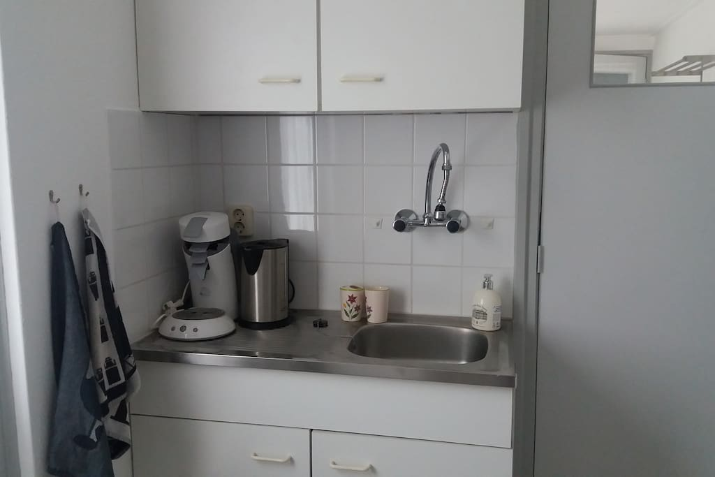 Keukenblokje met Waterkoker en Senseo