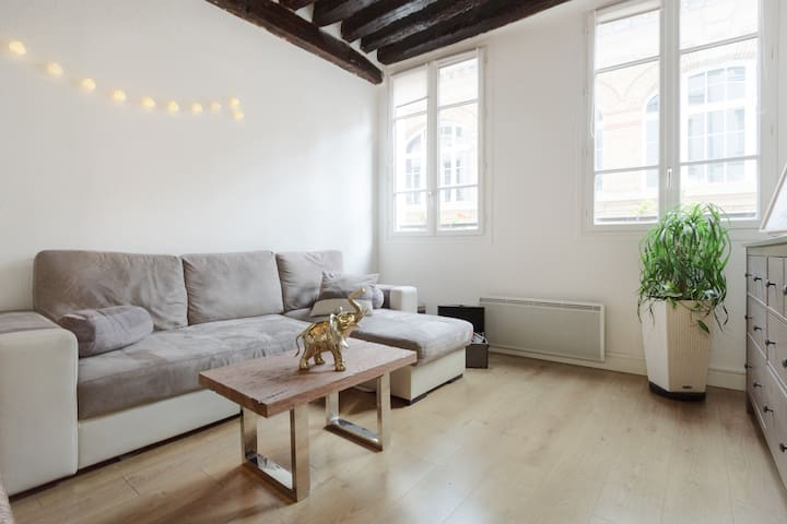 Cosy studio in Central Paris / best location! - Paris-1ER-Arrondissement - Wohnung