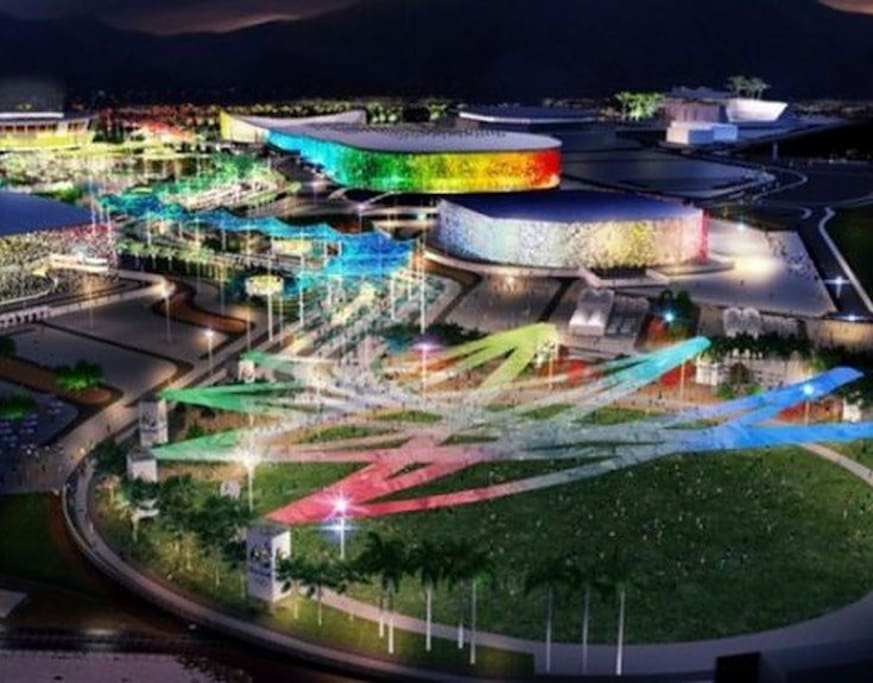 Olympic Park / Rio 2016 / Within walking distance