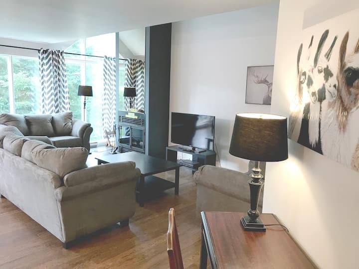 4 bedroom Villa next to Mont-Sainte-Anne