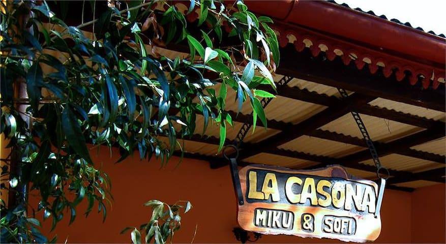 """La Casona """"Miku&Sofi"""" en Tanti - Tanti"""