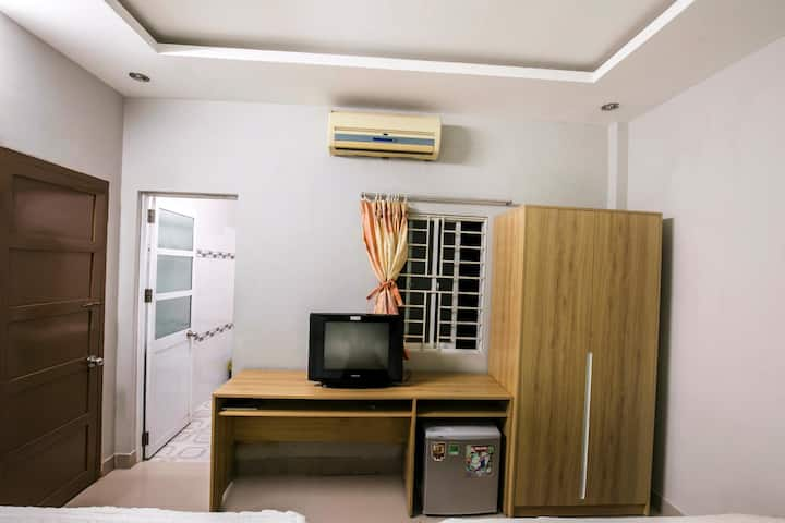 Nha Trang, Seamoon Guest Home,303 Ст.2 дв. кровати