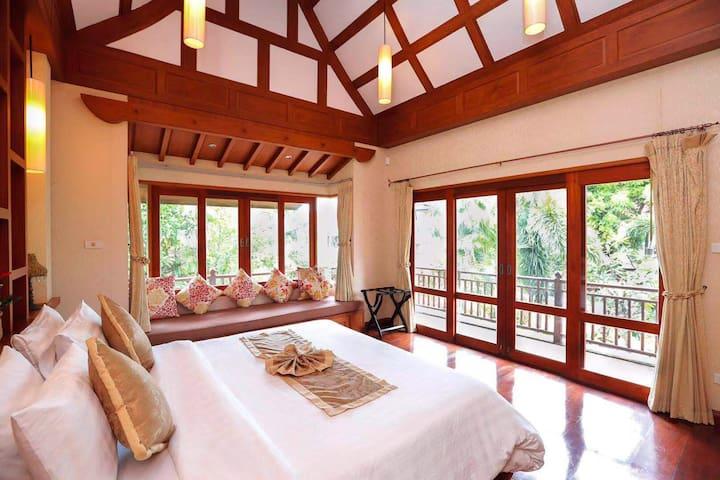 泰水游亭 2号别墅 4室超大 私人泳池 豪华