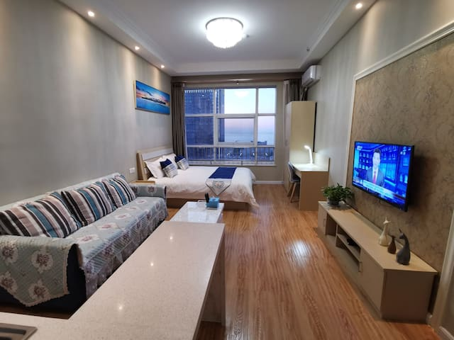 金沙滩星颐广场长江路富饶中心酒店式公寓