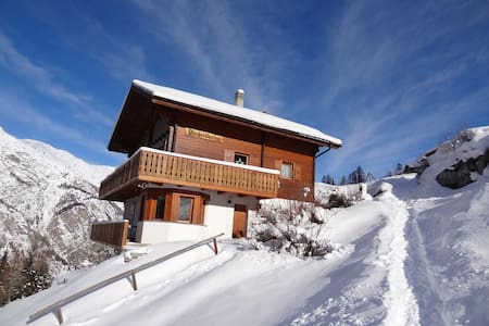 Chalet Panorama - apartment in nature - Sankt Niklaus - Chalé