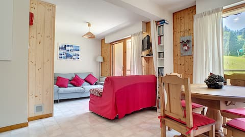 SPACIOUS APARTMENT 3*- SAINT JEAN D'AULPS SKI RESORT - 5/6 PEOPLE - CERF 36