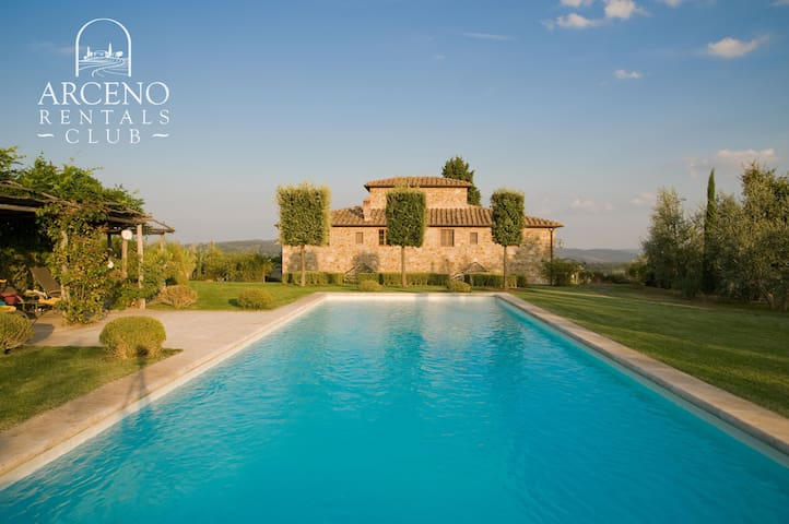 Camparone, Luxury Villa in Chianti
