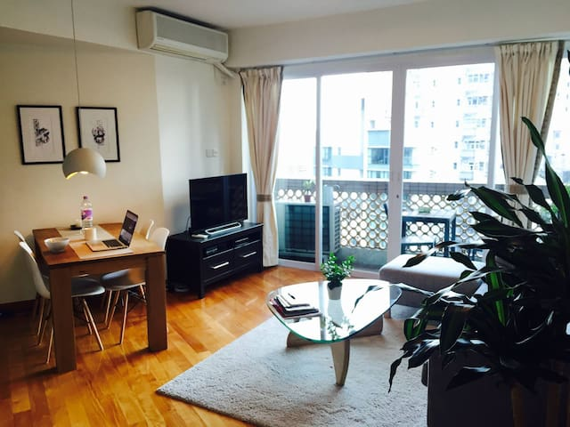 Bright apartment in superb location