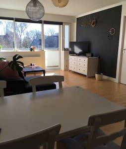Lys 2v lejlighed tæt på Kronborg - Helsingør - Квартира