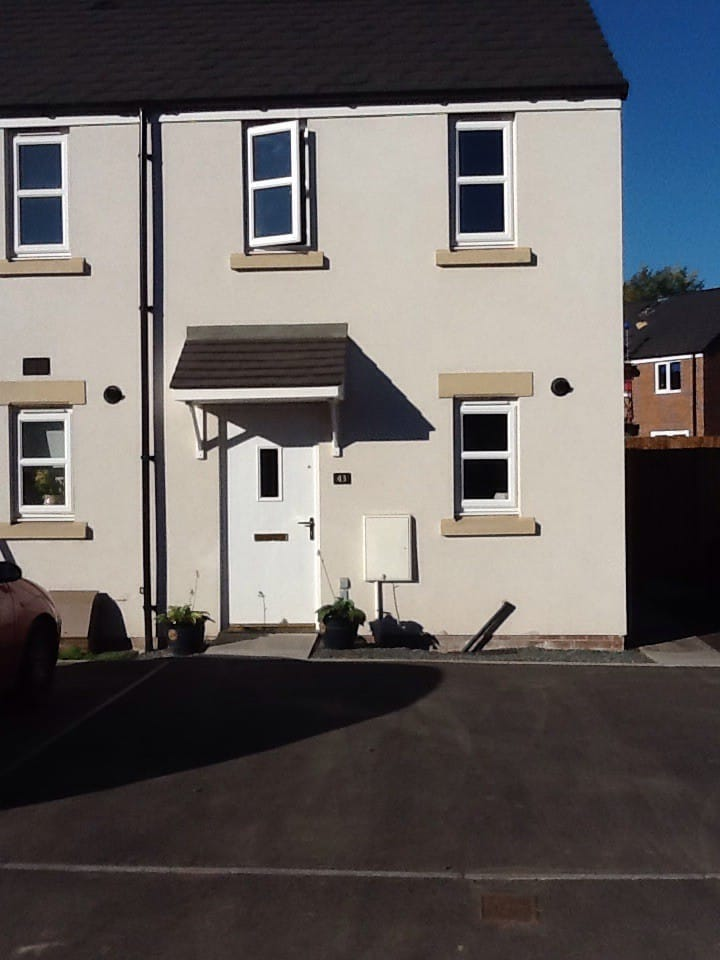 New House in Hay on Wye. 2 bedroomed end terraced.