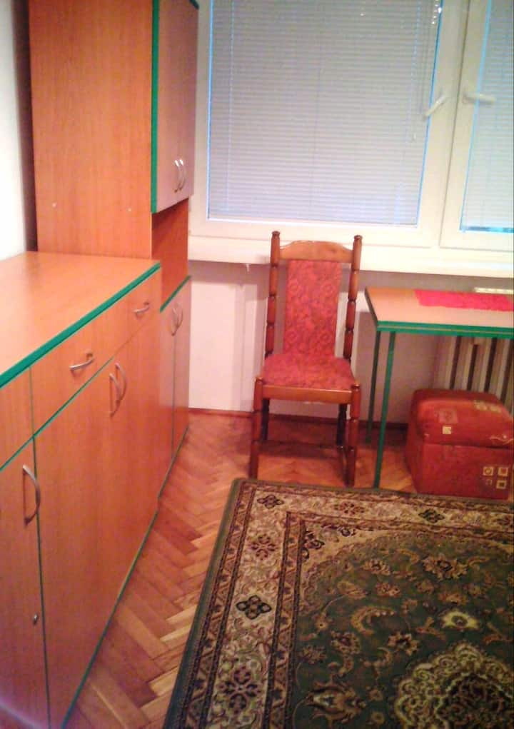Single room, good access to the City center.