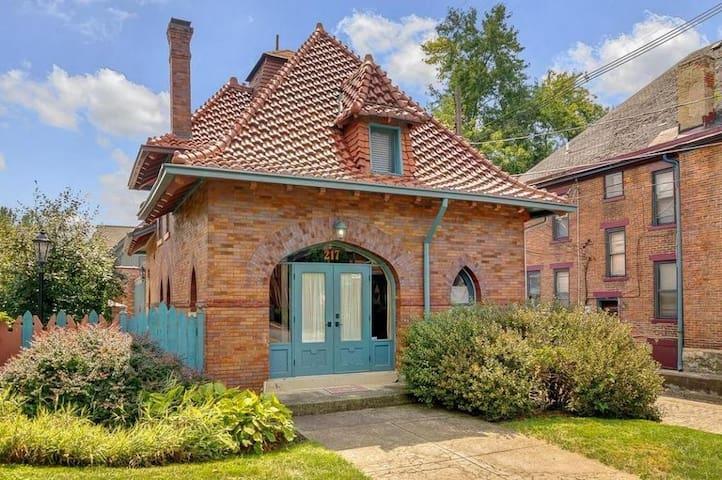 Historic Circus House on Goodale Park - Columbus - Hus