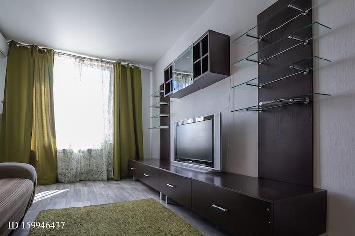 современная и уютная квартира-студия