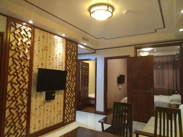 大连金州区悦庭酒店式公寓豪华海景套房 - Dalian - Byt se službami (podobně jako v hotelu)