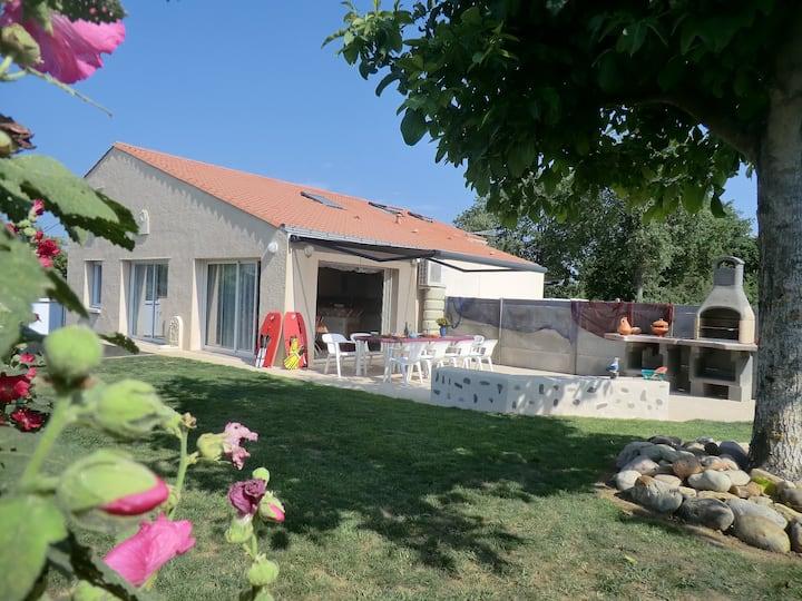 Villa les 2 palmiers  près des Sables d'Olonnes