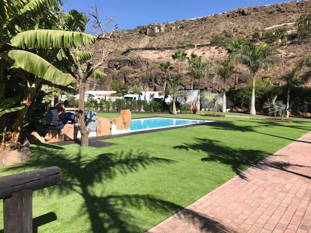 Modern villa with spectacular views