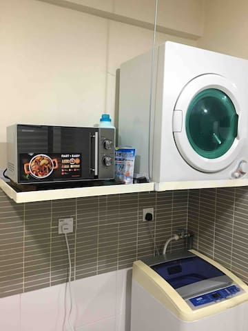 Washing machine , dryer , microwave