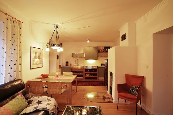 stilvolles Terrassenappartmen App 3 - Sankt Martin bei Lofer - Appartamento