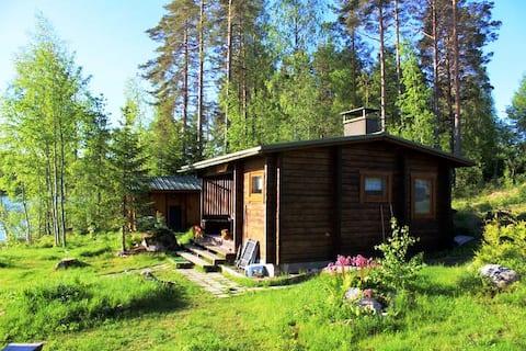 """""""Ranta-Kesälä"""" - Finnish cabin with stunning view"""