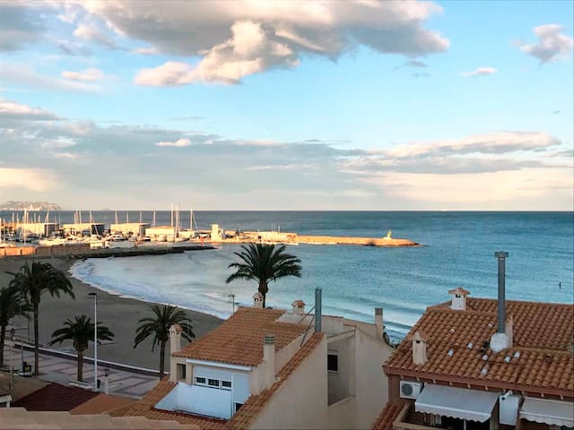 Apartamento a segunda línea de playa+ garaje+ WIFI
