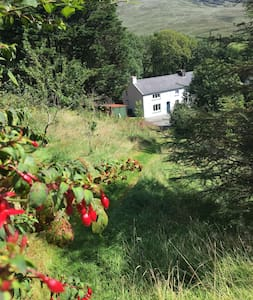 Old Kerry Farmhouse in tranquil valley setting