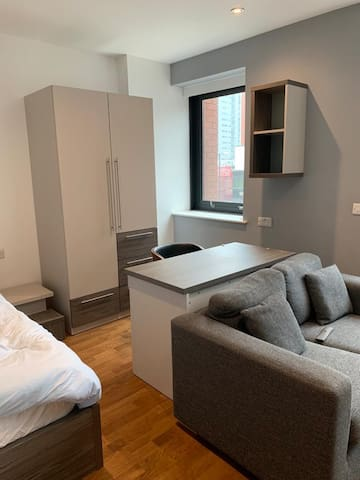 Studio in Leeds city centre