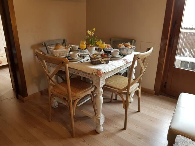 Un completo desayuno para tu primer día de estancia