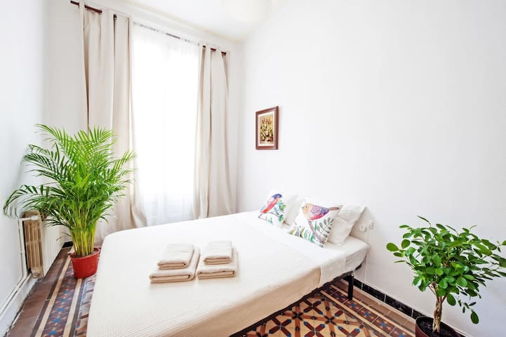 A | Spacious room in the city center!