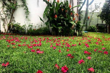 Conforto, Jardim e Segurança