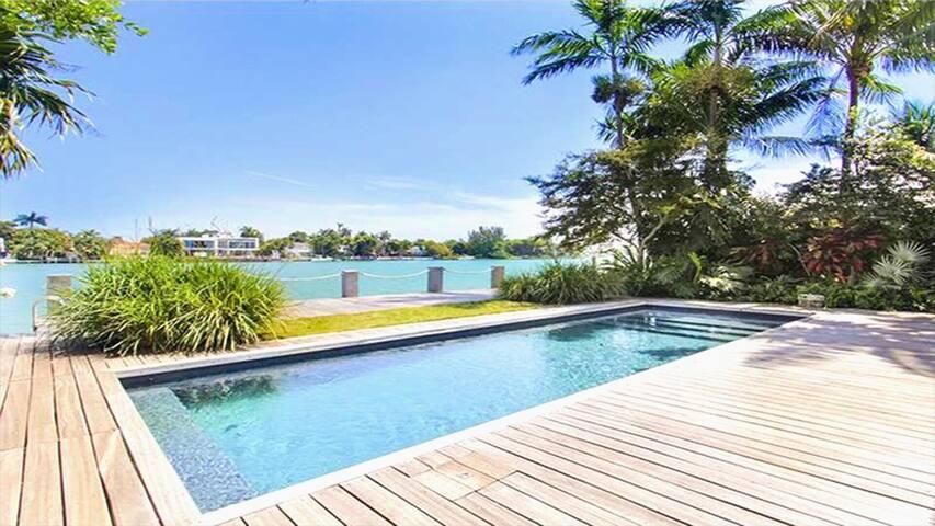 WaterFront LUXURYMiamiBeach Villa&Pool! - Miami Beach - Villa